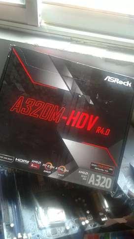 Placa madre Asrock a320 DDR4 para Ryzen