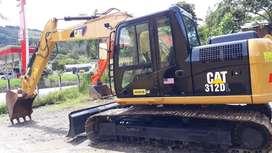 Excavarora CAT 312DL Retroexcavadora