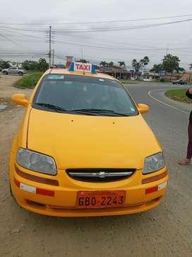Se vende taxi aveo 2012 negociable