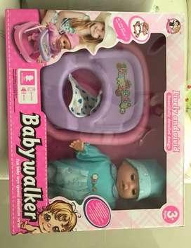 Muñeca caminadora Baby Walker importado