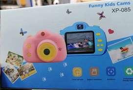 Cámara para niños ¡el mejor regalo!,toma fotos, videos, escucha música y juega desde ella️