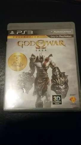 Juego Ps3 play station 3 god of war saga (1 2 3) Dios de la guerra