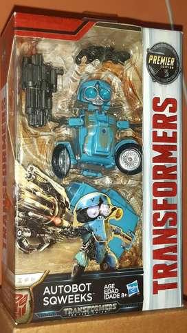 Transformers/ SQWEEKS/ The Last Knight/ Autobot/ Hasbro