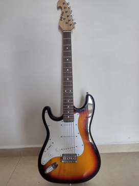 Guitarra Eléctrica Mc-Art tipo Stratocaster para zurdo