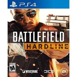 Battlefield Hardline Ps4 Play 4 Fisico