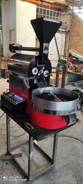 Tostadora de café cacao maní granos sachainchi trilladora molino descascarilladora molino cacao café mezcladora