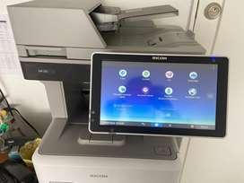 Impresora ricoh mp501