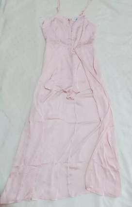 Enterizo rosa pastel Talla M