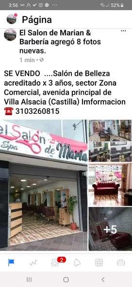 Salón de belleza de lujo, acreditado x 3 años , excelente ubicación, zona comercial de Villa Alsacia