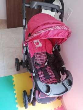 Coche para bebé priori+silla infanti
