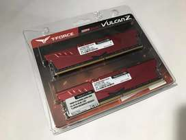 RAM DDR4 16GB Kit (2 x 8GB) 3000MHz TEAMGROUP T-Force Vulcan Z