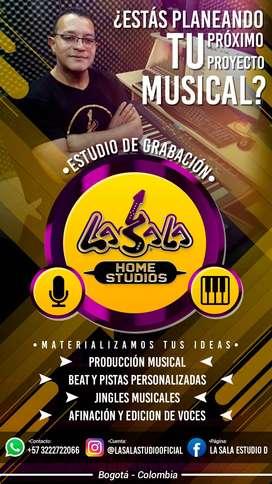 Grababacion de CAnciones Estudio de Grabacion en Bogota