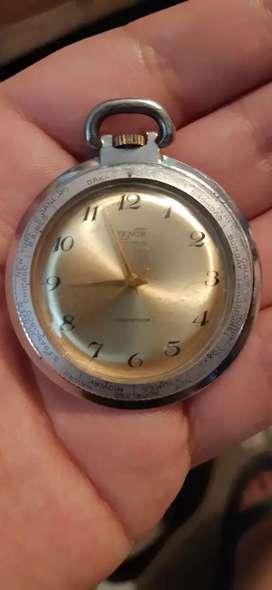Reloj de bolsillo antiguo marca tenor
