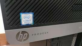 Cpu Hp Core I7 8700 Prodesk Webcam