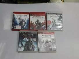 Playstation 3 colección assassins screed