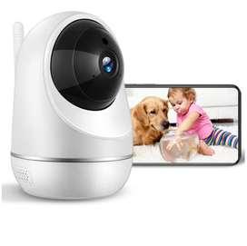 Cámara De Seguridad Para Interiores HD 1080P WiFi Sistema De vigilancia IP Inalámbrica