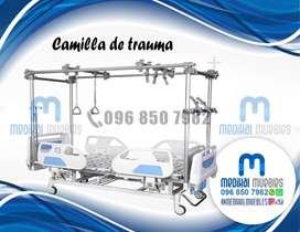 CAMA DE TRAUMA ORTOPÉDICA CAMILLA HOSPITALARIA
