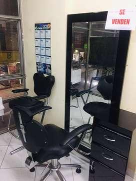 Vendo muebles para peluquería Ganga!!!