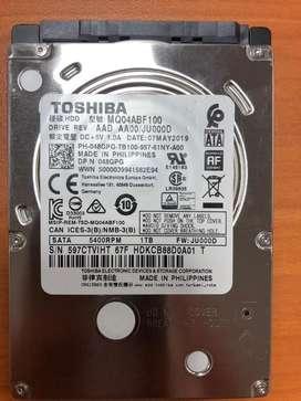 Disco duro para laptop 1TB