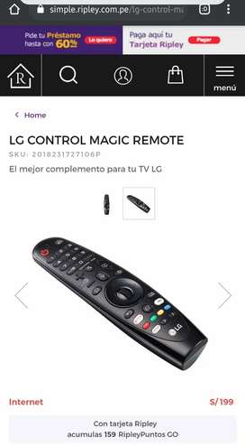 Control Lg Mágic