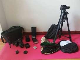 Se vende Camara Nikon d5200