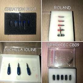 Cuchillas Plotter Roland Graphtec Pcut