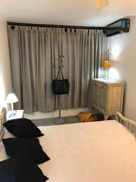 Alquiler temporario para 4 personas , coma matrimonial y en living sillon cama , equipado con ropa blanca !