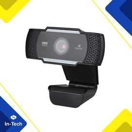 Cámara Web Resolución 1080p Microfono Marca Kisonli