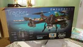 Drone cuadroptero con cámara HD.