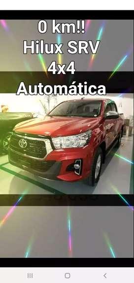 Toyota Hilux srv 4x4 Automática ok
