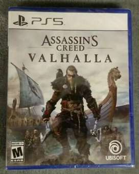 Juego de Assassin's Creed Valhalla Playstation 5 sellados