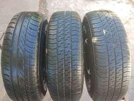 3 ruedas completas Clio Mio 175 70 13