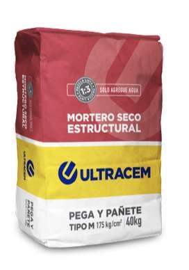 Mortero Seco Estructural  Tipo M  40 kilos ULTRACEM