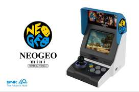 Neo Geo Mini Internacional Nueva Sellada