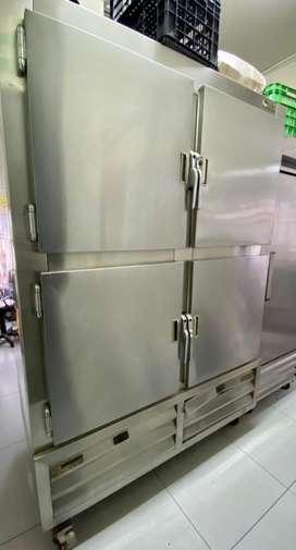 Camara inox refrigeradora 2 cuerpos Mixta