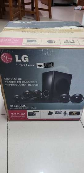 Home theater LG dh4220s con DVD sonido 5.1