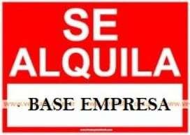 ALQUILO BASE SOBRE RUTA 22