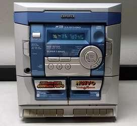 Aiwa cabezote de equipo de sonido