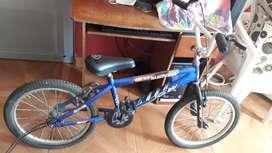 Bicicleta de cross color azul