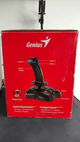 Controlador unico en el mercado Genius MaxFighter F-17 joystick pc