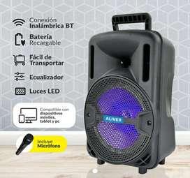 Parlante Bluetooth 8 pulgadas