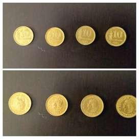 Peso Ley 18188. Moneda de 10 centavos de 1970 a 1974