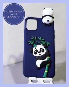 Case de Panda Alto relieve IPhone 11