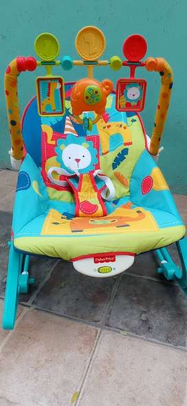 mecedora bebe fisher price