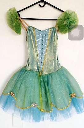 Vestido / disfraz de princesa/hada en perfevto estado