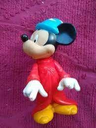 Mickey Mago Disney Mc Donald's mueve brazos y  cabezaJuguete Leer