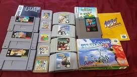 Juegos NES, Game Boy, SNES, Nintendo 64