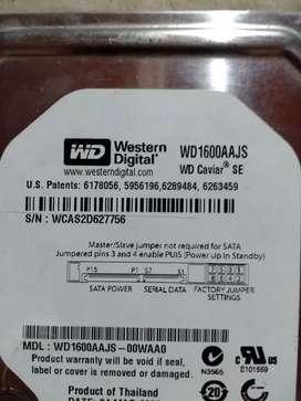 Disco Rígido 160 Gb - Ide - Wd