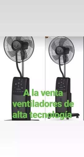 Ventilador de alta tecnología con. Tres excelente velocidades