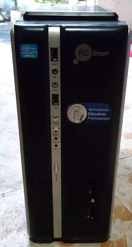 Torre cpu procesador i3 500gb disco duro 4gb ram